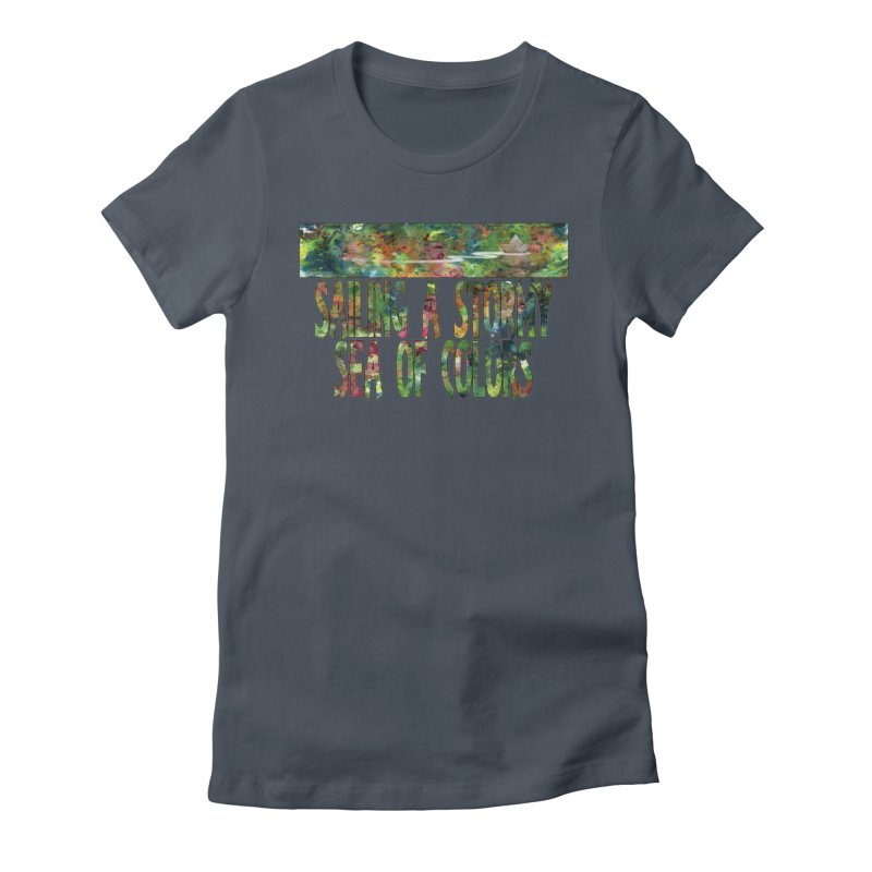 Sailing a Stormy Sea of Colors Women's Lounge Pants by Ferran Xalabarder's Artist Shop