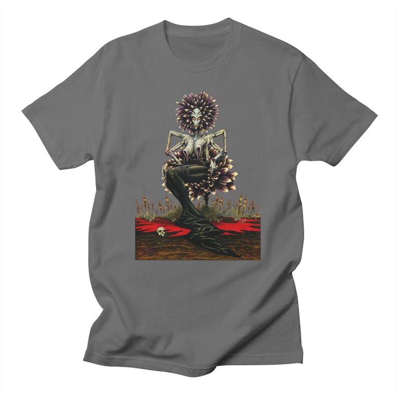 The Pain Sucker Goddess (silhouette) Men's T-Shirt by Ferran Xalabarder's Artist Shop