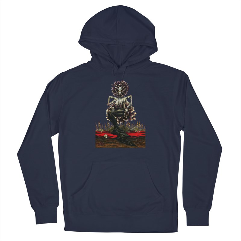 The Pain Sucker Goddess (silhouette) Men's Pullover Hoody by Ferran Xalabarder's Artist Shop