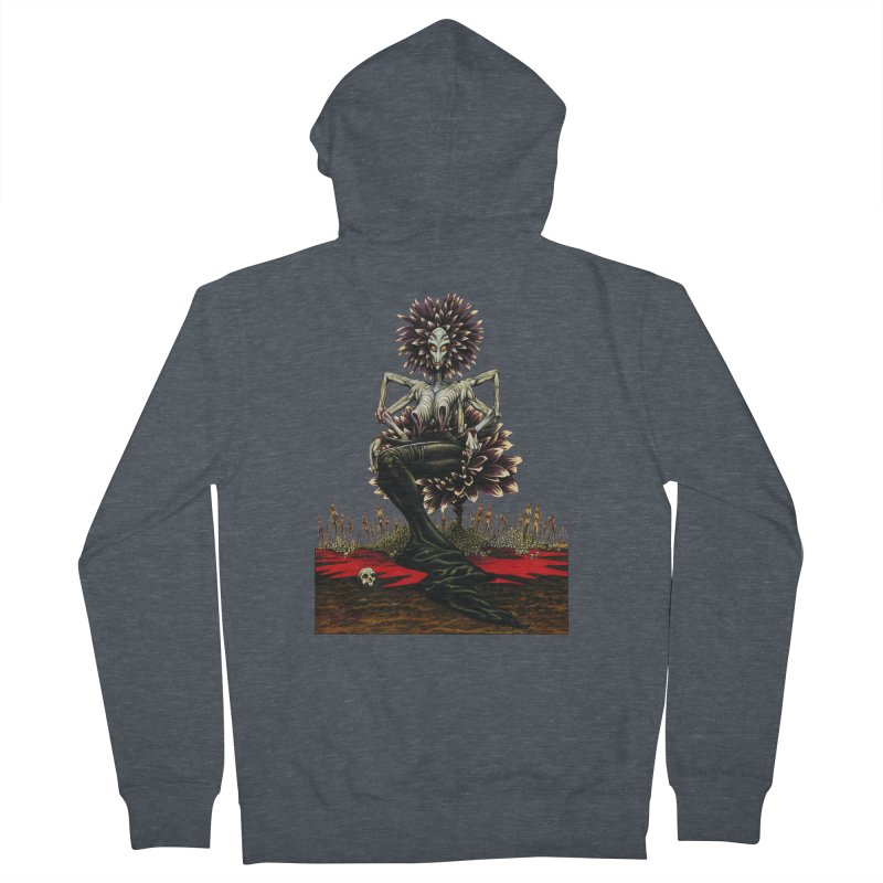 The Pain Sucker Goddess (silhouette) Women's Zip-Up Hoody by Ferran Xalabarder's Artist Shop