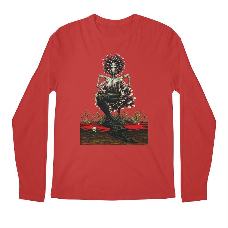 The Pain Sucker Goddess (silhouette) Men's Regular Longsleeve T-Shirt by Ferran Xalabarder's Artist Shop