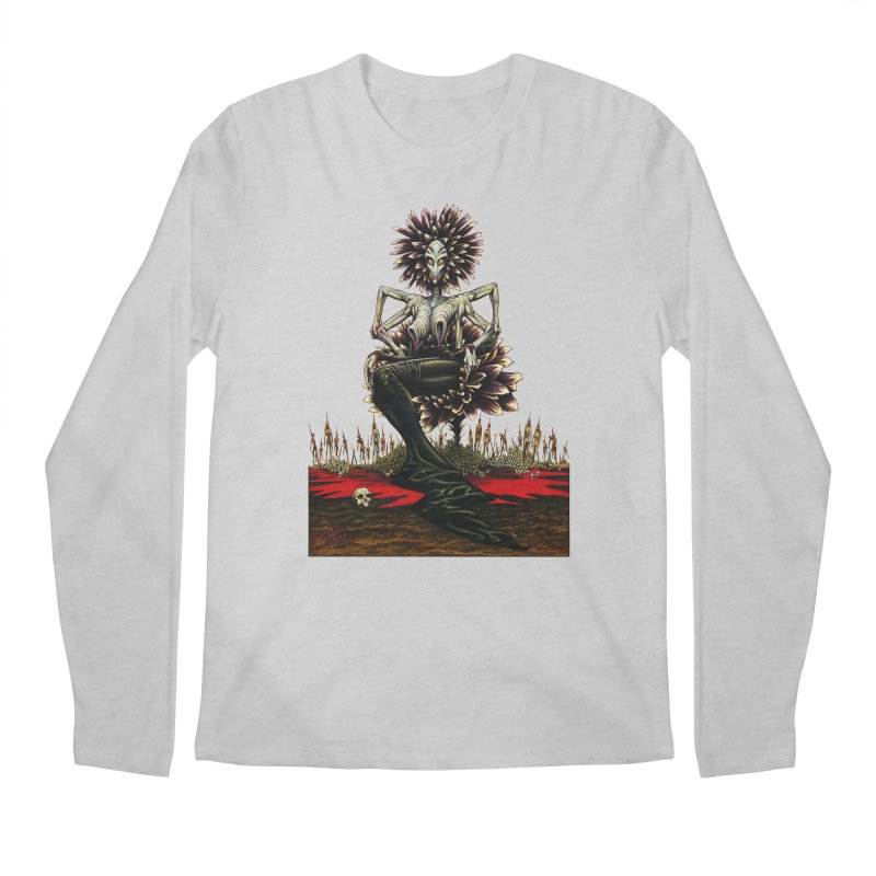 The Pain Sucker Goddess (silhouette) Men's Regular Longsleeve T-Shirt by Ferran Xalabarder's Artist Shop