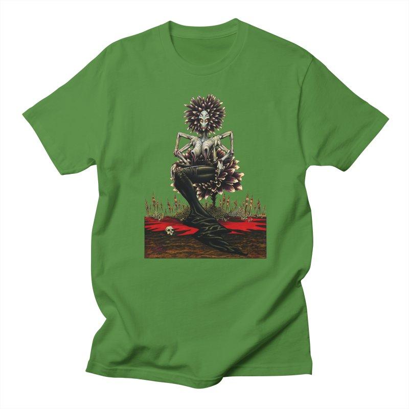 The Pain Sucker Goddess (silhouette) Men's Regular T-Shirt by Ferran Xalabarder's Artist Shop
