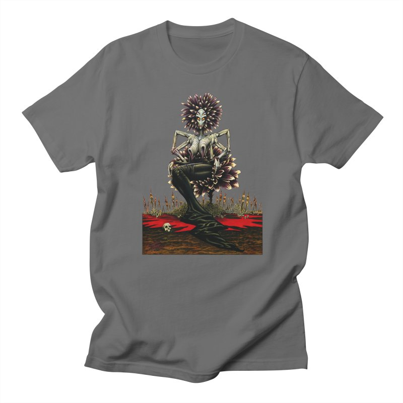 The Pain Sucker Goddess (silhouette) Men's T-Shirt by Ferran Xalabarder's Artist Shop