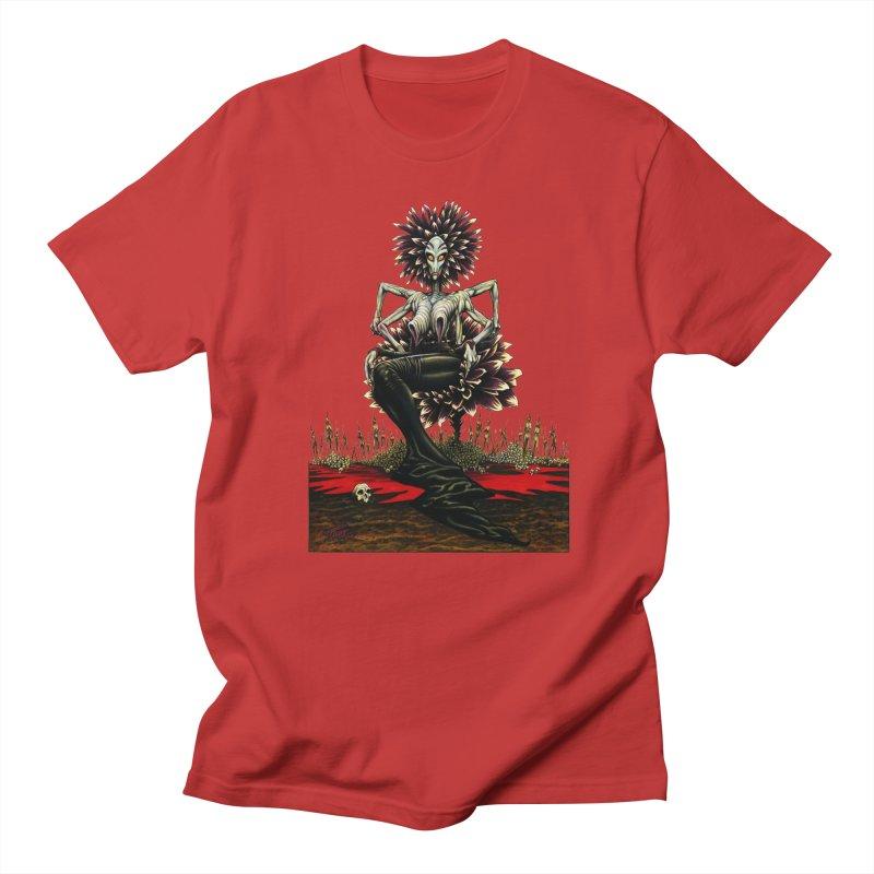 The Pain Sucker Goddess (silhouette) Women's Unisex T-Shirt by Ferran Xalabarder's Artist Shop