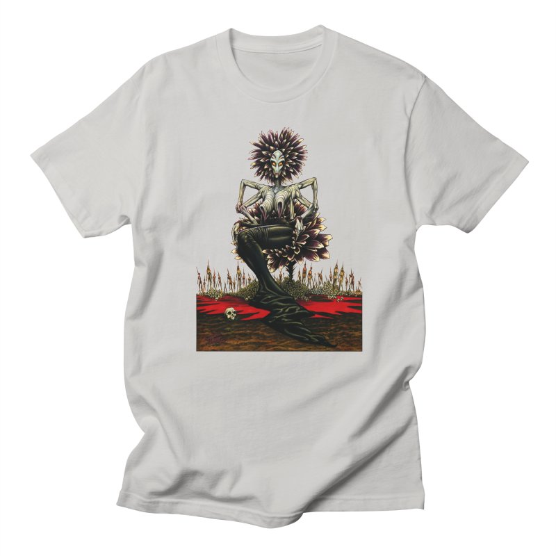 The Pain Sucker Goddess (silhouette) Men's Regular T-Shirt by Ferran Xalabarder's Artist Shop