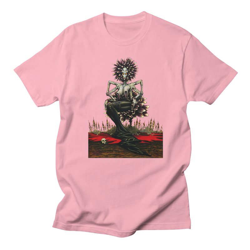 The Pain Sucker Goddess (silhouette) Women's Regular Unisex T-Shirt by Ferran Xalabarder's Artist Shop