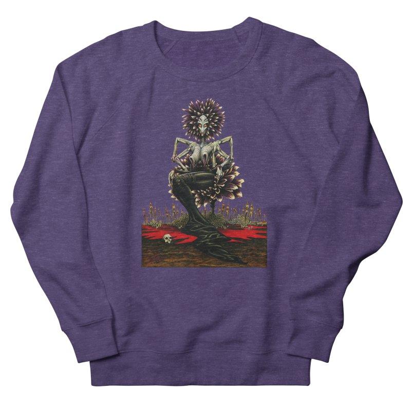 The Pain Sucker Goddess (silhouette) Women's French Terry Sweatshirt by Ferran Xalabarder's Artist Shop