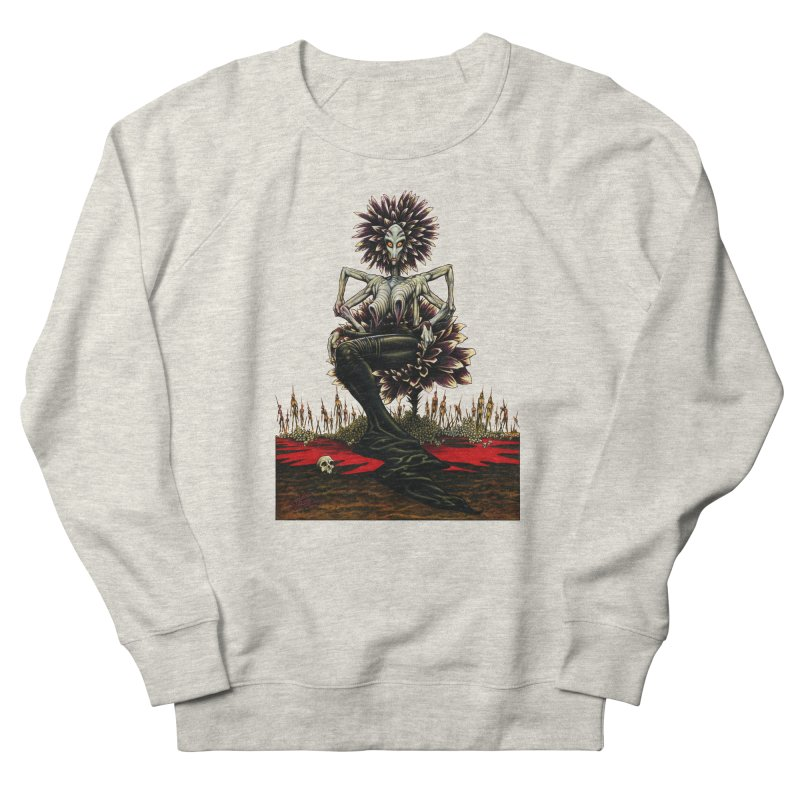The Pain Sucker Goddess (silhouette) Women's French Terry Sweatshirt by Ferran Xalabarder's Artist Shop