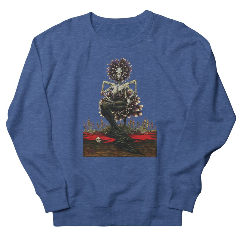 The Pain Sucker Goddess (silhouette) Men's Sweatshirt by Ferran Xalabarder's Artist Shop