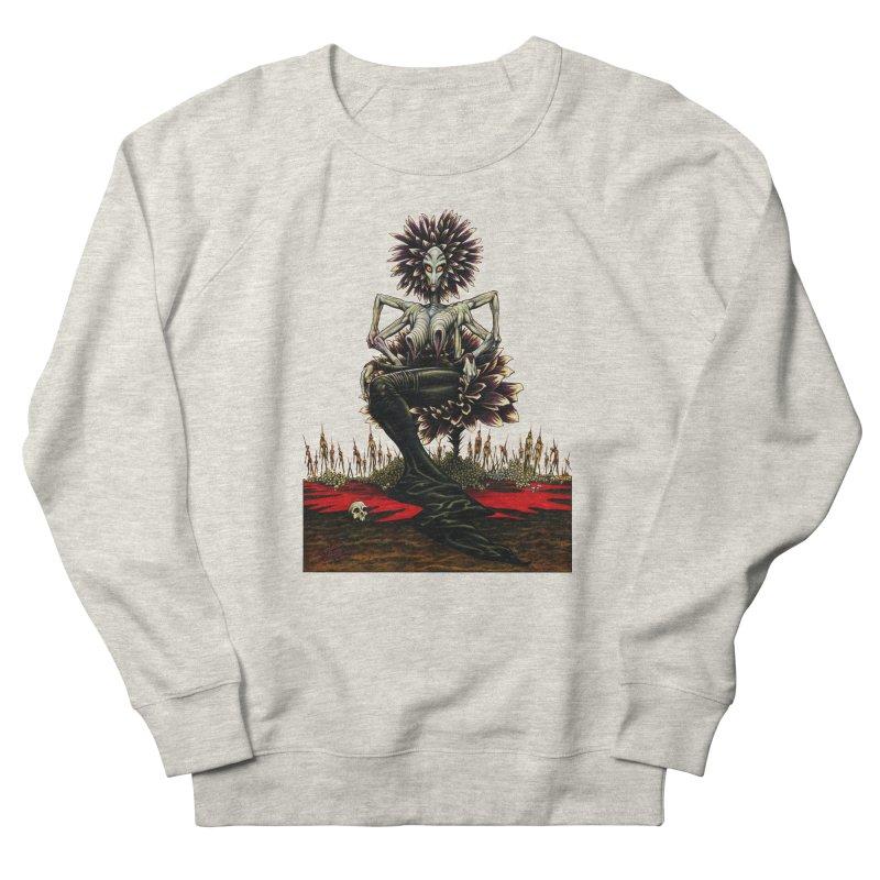 The Pain Sucker Goddess (silhouette) Men's Sweatshirt by Ferran Xalabarder's Artist Shop