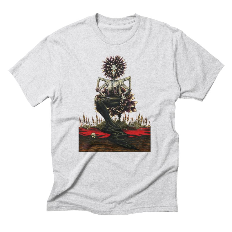 The Pain Sucker Goddess (silhouette) Men's Triblend T-Shirt by Ferran Xalabarder's Artist Shop