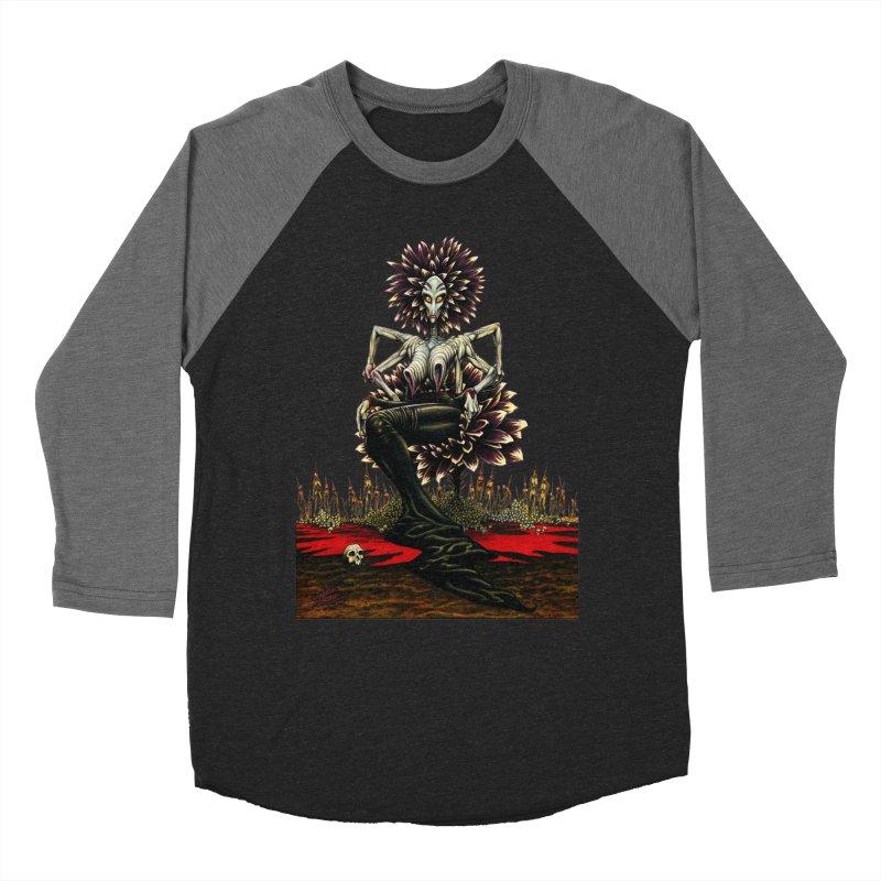 The Pain Sucker Goddess (silhouette) Women's Baseball Triblend T-Shirt by Ferran Xalabarder's Artist Shop