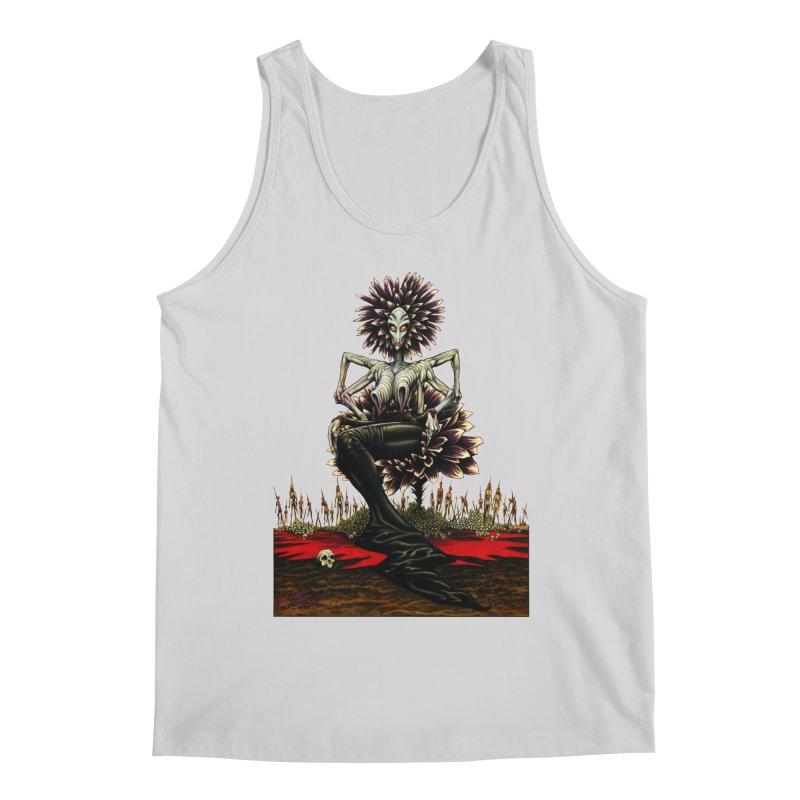 The Pain Sucker Goddess (silhouette) Men's Regular Tank by Ferran Xalabarder's Artist Shop