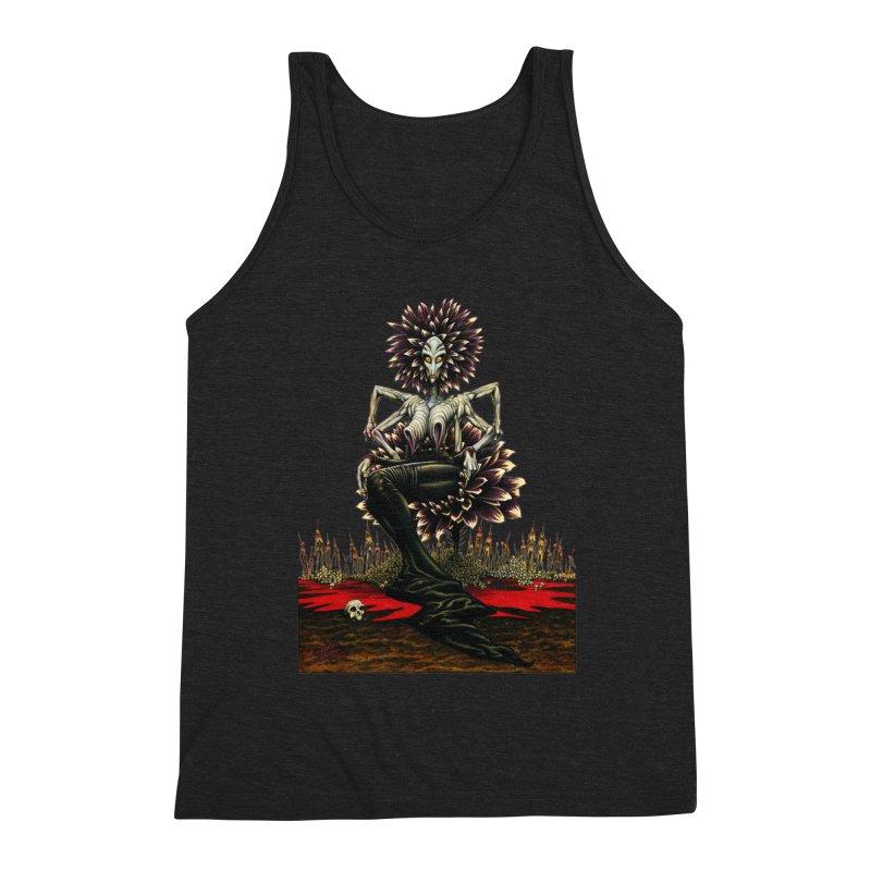 The Pain Sucker Goddess (silhouette) Men's Tank by Ferran Xalabarder's Artist Shop