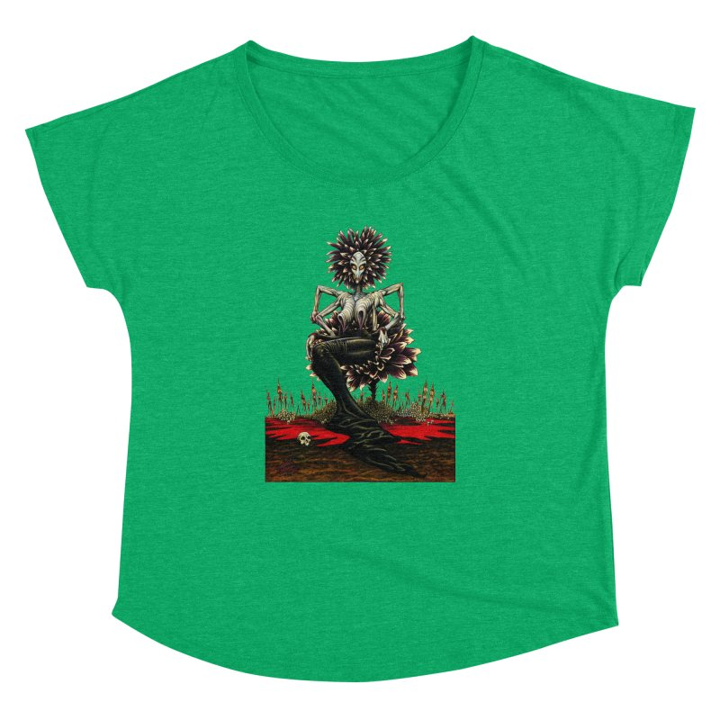 The Pain Sucker Goddess (silhouette) Women's Dolman by Ferran Xalabarder's Artist Shop