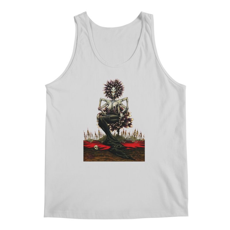 The Pain Sucker Goddess (silhouette) Men's Regular Tank by Ferran Xalabarder's Artist Shop