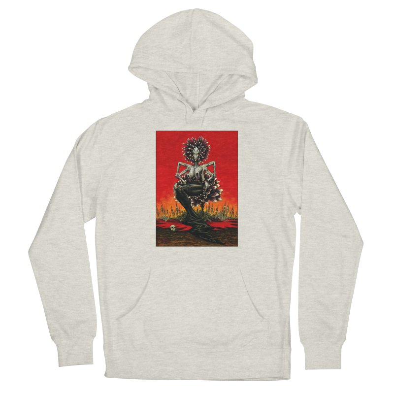 The Pain Sucker Goddess Men's Pullover Hoody by Ferran Xalabarder's Artist Shop