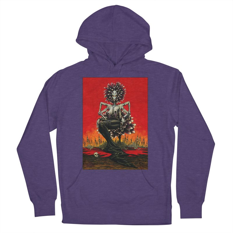 The Pain Sucker Goddess Women's French Terry Pullover Hoody by Ferran Xalabarder's Artist Shop