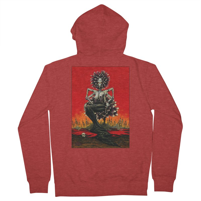 The Pain Sucker Goddess Women's French Terry Zip-Up Hoody by Ferran Xalabarder's Artist Shop