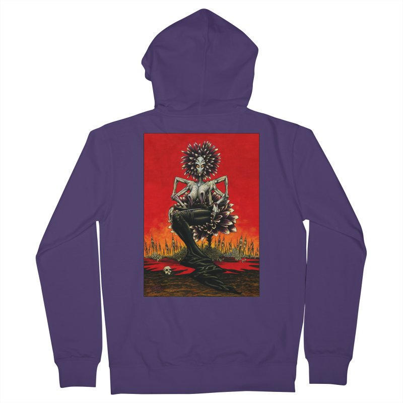 The Pain Sucker Goddess Women's Zip-Up Hoody by Ferran Xalabarder's Artist Shop