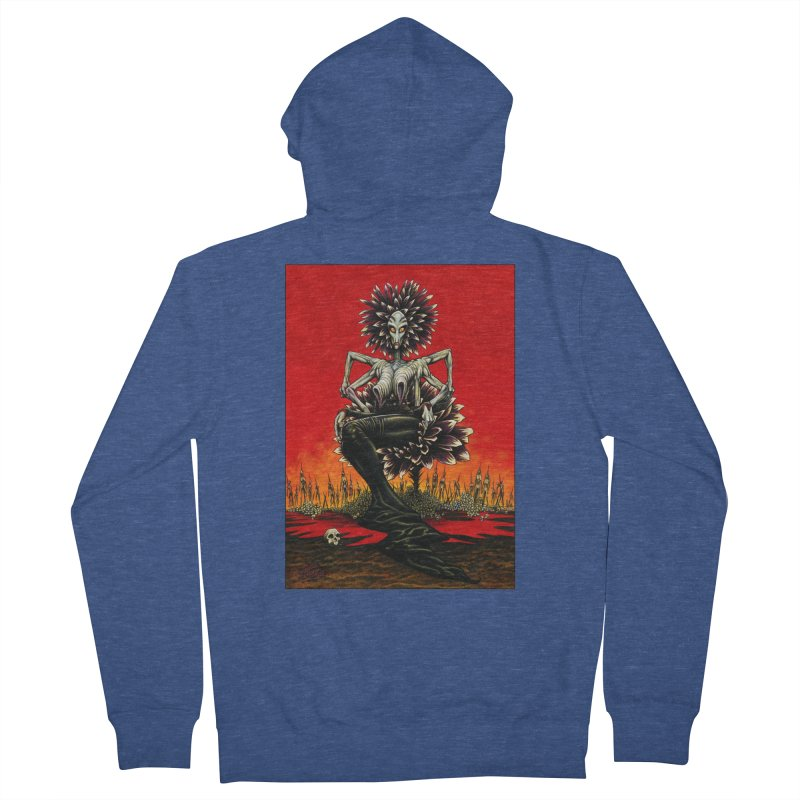 The Pain Sucker Goddess Men's Zip-Up Hoody by Ferran Xalabarder's Artist Shop