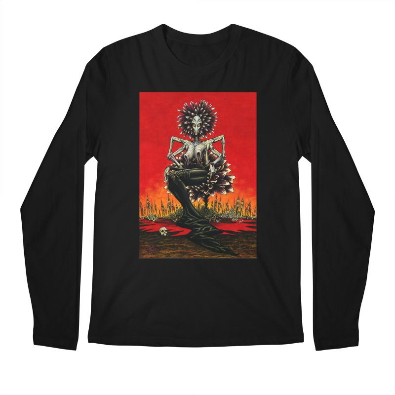 The Pain Sucker Goddess Men's Regular Longsleeve T-Shirt by Ferran Xalabarder's Artist Shop