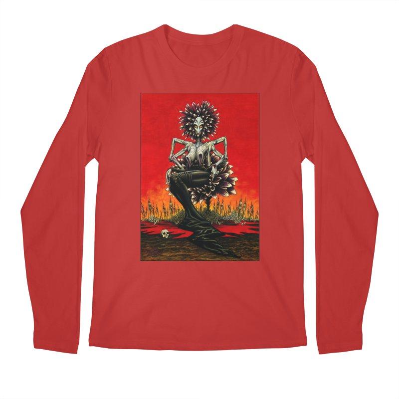 The Pain Sucker Goddess Men's Regular Longsleeve T-Shirt by Ferran Xalabarder's Artist Shop