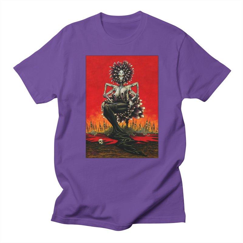 The Pain Sucker Goddess Women's Regular Unisex T-Shirt by Ferran Xalabarder's Artist Shop