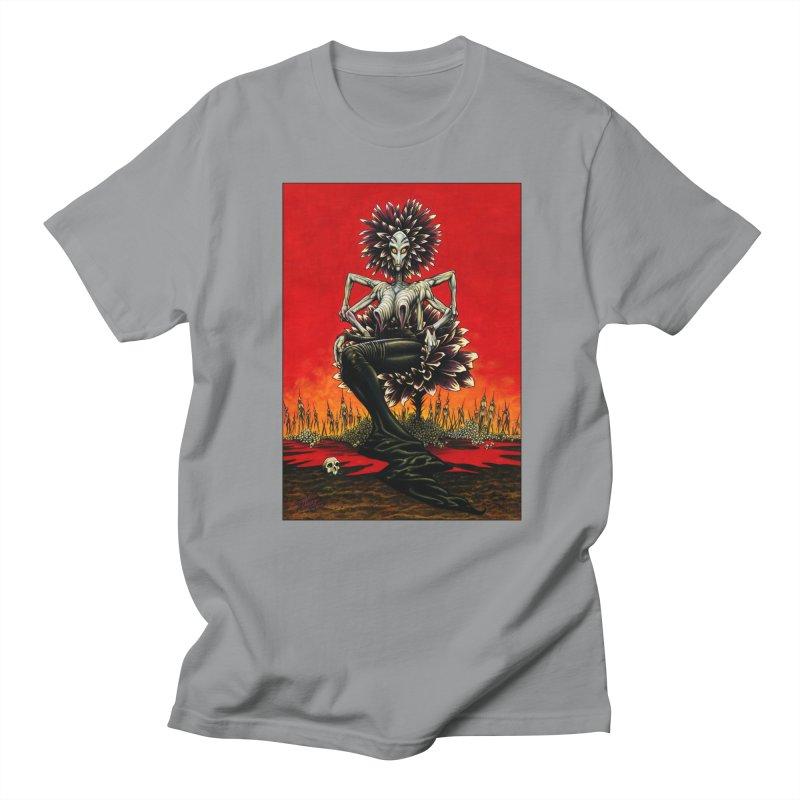 The Pain Sucker Goddess Men's Regular T-Shirt by Ferran Xalabarder's Artist Shop