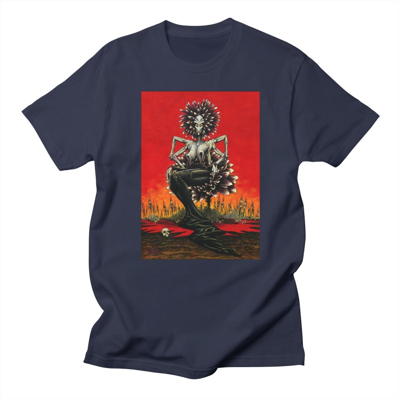 The Pain Sucker Goddess Men's Regular T-Shirt by Ferran Xalabarder's Artist Shop