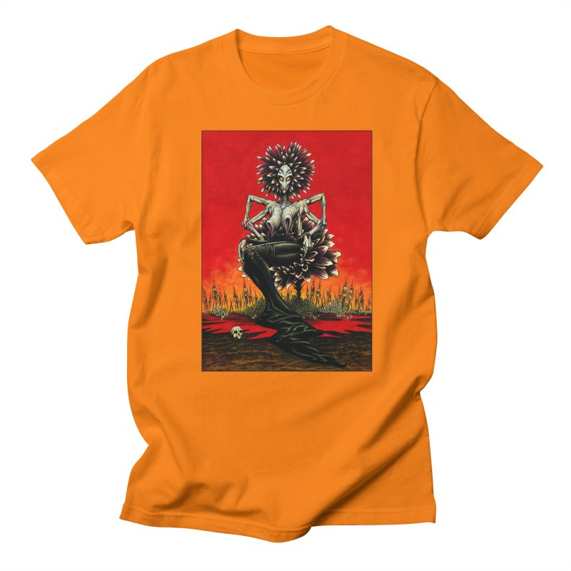 The Pain Sucker Goddess Women's Unisex T-Shirt by Ferran Xalabarder's Artist Shop