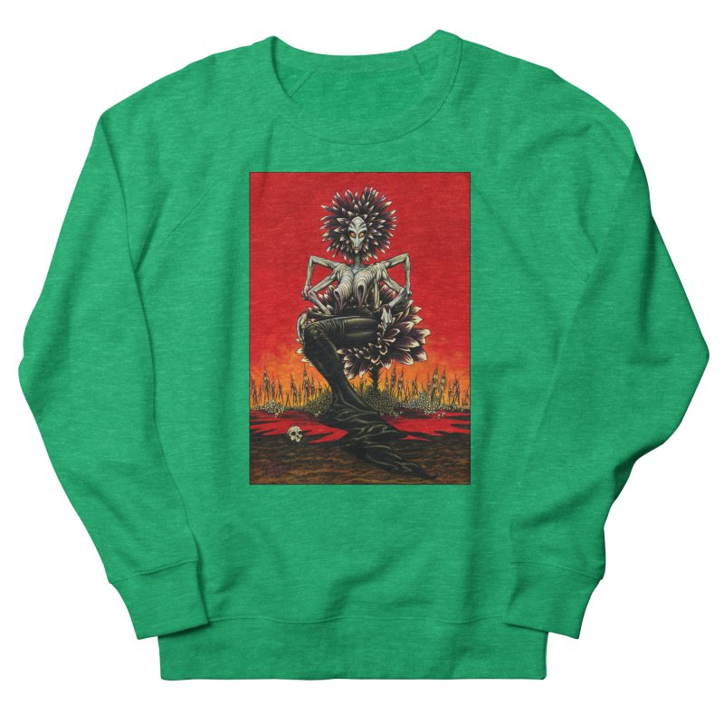 The Pain Sucker Goddess Women's Sweatshirt by Ferran Xalabarder's Artist Shop