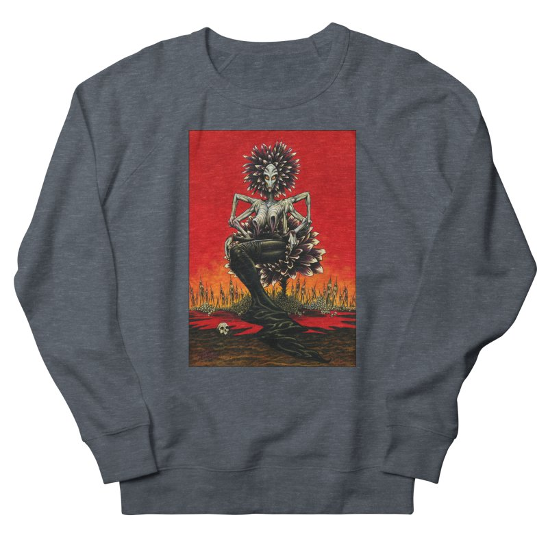The Pain Sucker Goddess Women's French Terry Sweatshirt by Ferran Xalabarder's Artist Shop