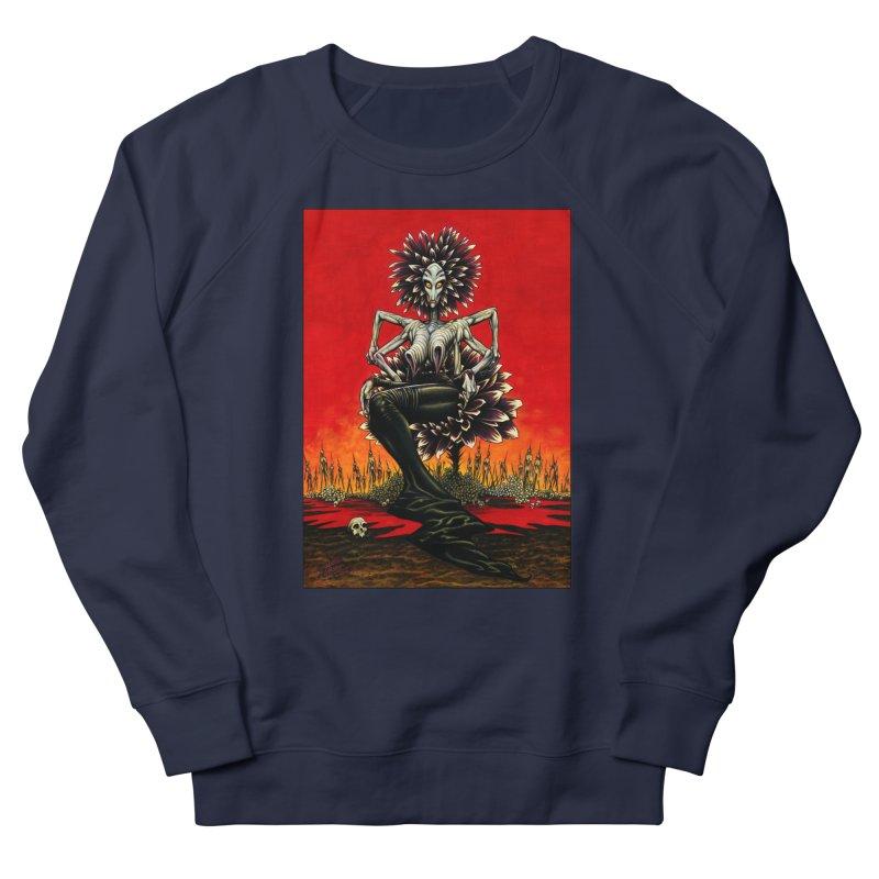 The Pain Sucker Goddess Women's French Terry Sweatshirt by Ferran Xalabarder's Artist Shop