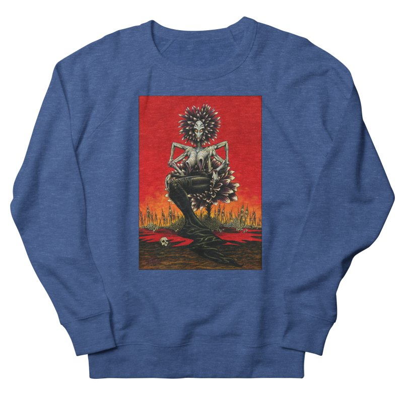 The Pain Sucker Goddess Men's Sweatshirt by Ferran Xalabarder's Artist Shop