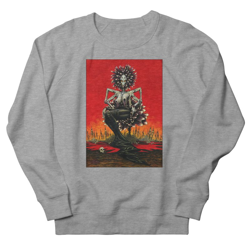 The Pain Sucker Goddess Men's Sweatshirt by Ferran Xalabarder's Artist Shop