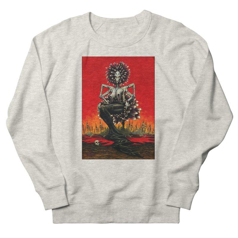 The Pain Sucker Goddess Men's French Terry Sweatshirt by Ferran Xalabarder's Artist Shop