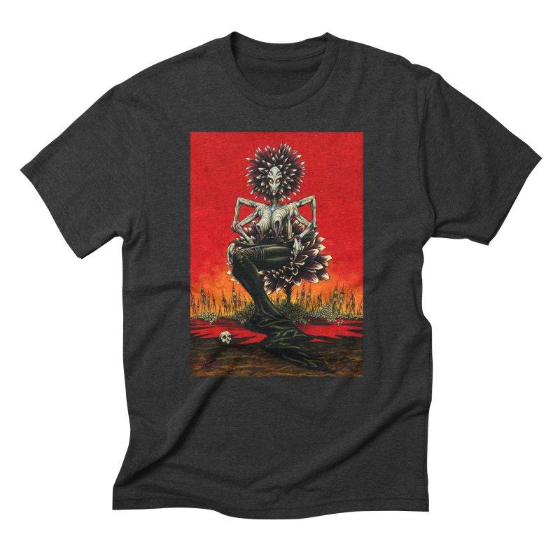 The Pain Sucker Goddess Men's Triblend T-Shirt by Ferran Xalabarder's Artist Shop