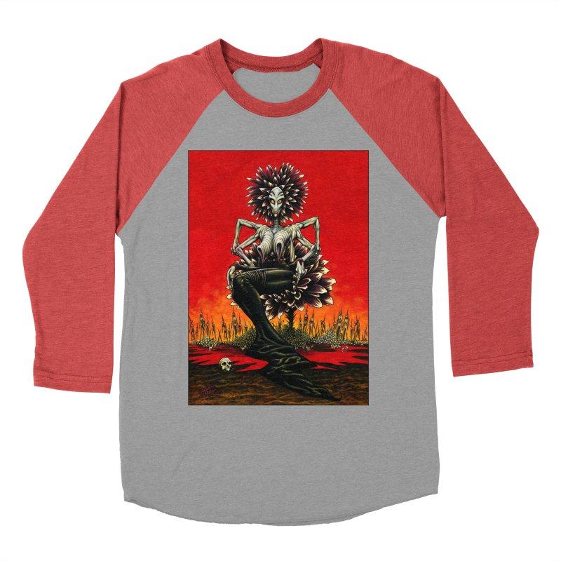 The Pain Sucker Goddess Women's Baseball Triblend Longsleeve T-Shirt by Ferran Xalabarder's Artist Shop