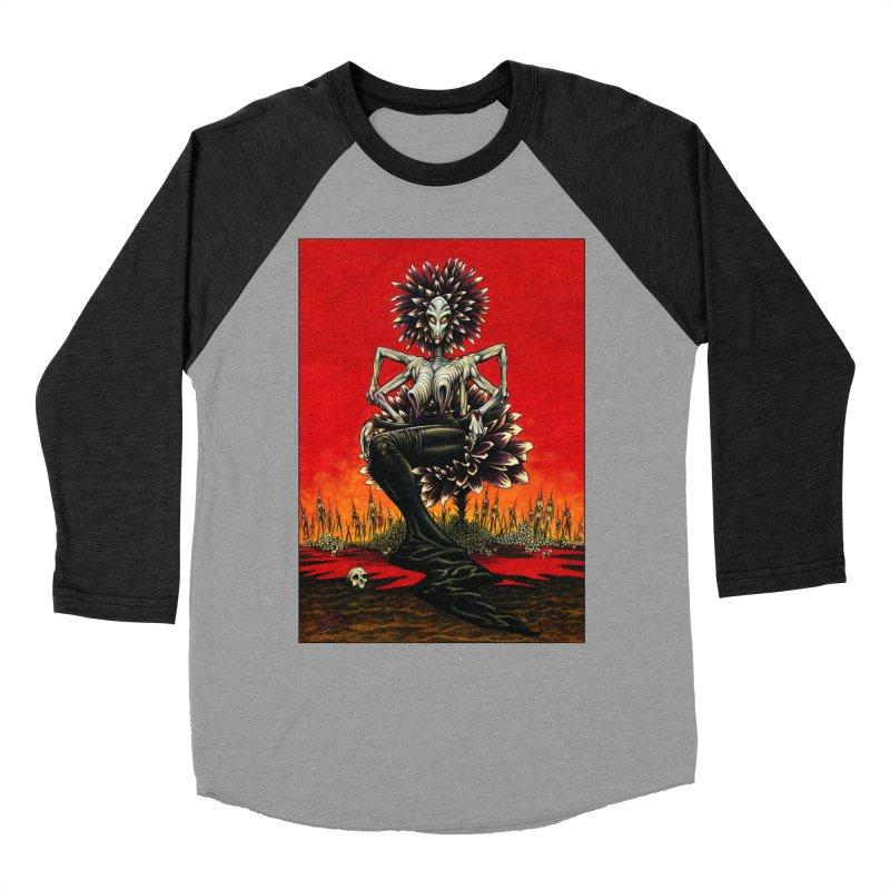 The Pain Sucker Goddess Women's Baseball Triblend T-Shirt by Ferran Xalabarder's Artist Shop