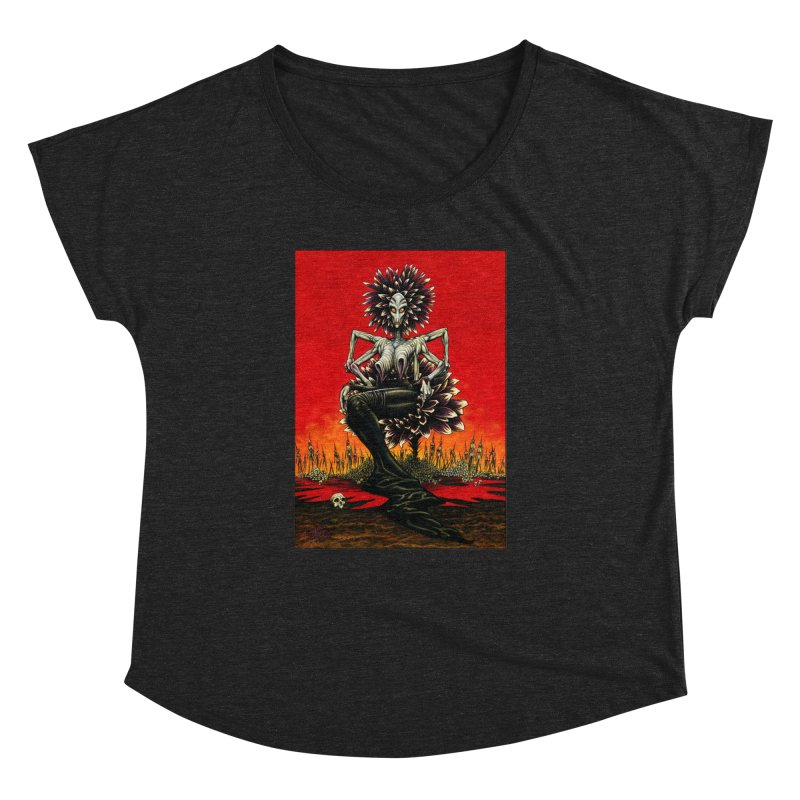 The Pain Sucker Goddess Women's Dolman by Ferran Xalabarder's Artist Shop