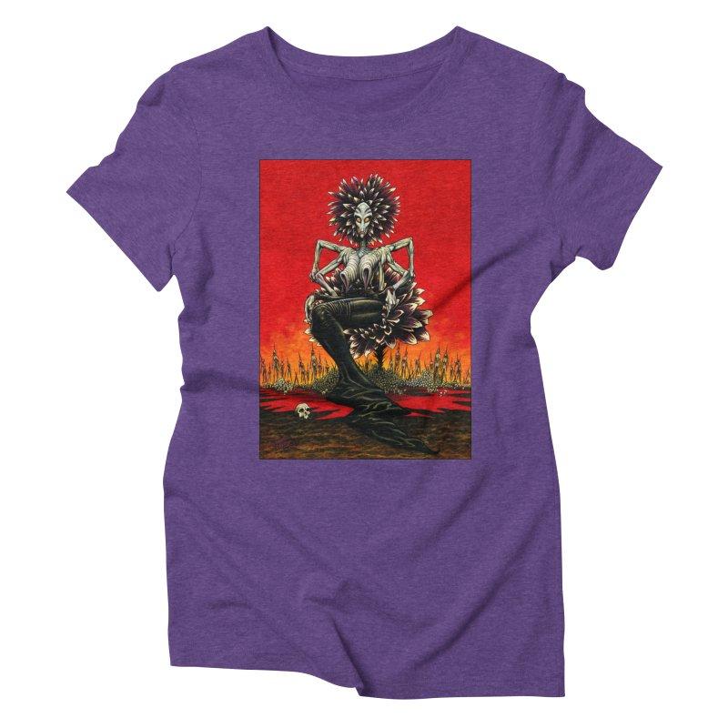 The Pain Sucker Goddess Women's T-Shirt by Ferran Xalabarder's Artist Shop