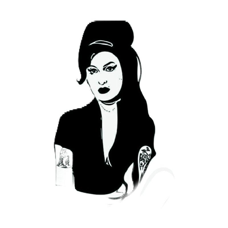 La Amy Women's Pullover Hoody by Fidel Pineda Art & Apparel