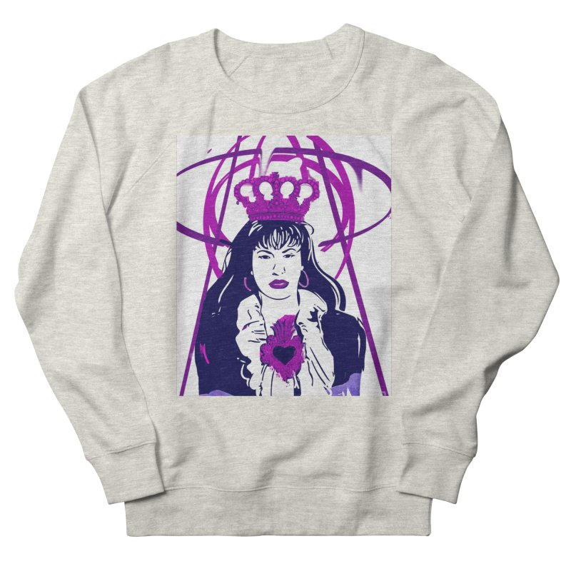 The Purp Queen Men's Sweatshirt by Fidel Pineda Art & Apparel