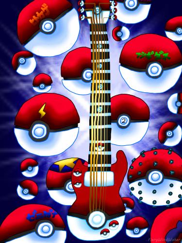 Pokeball-Guitars