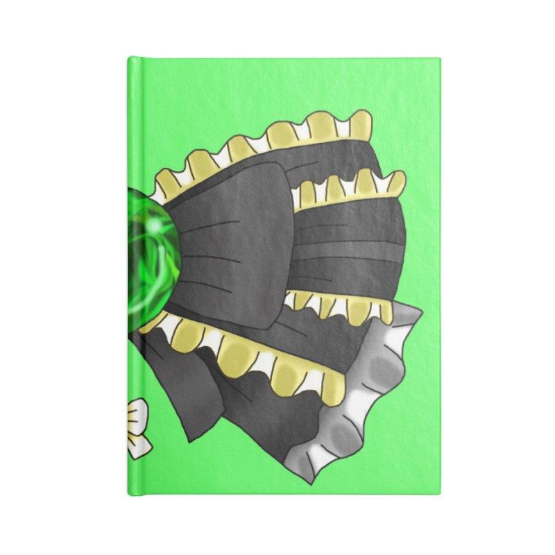Materia Bow #4 - Magic Materia Accessories Notebook by FieryWindWaker's Artist Shop