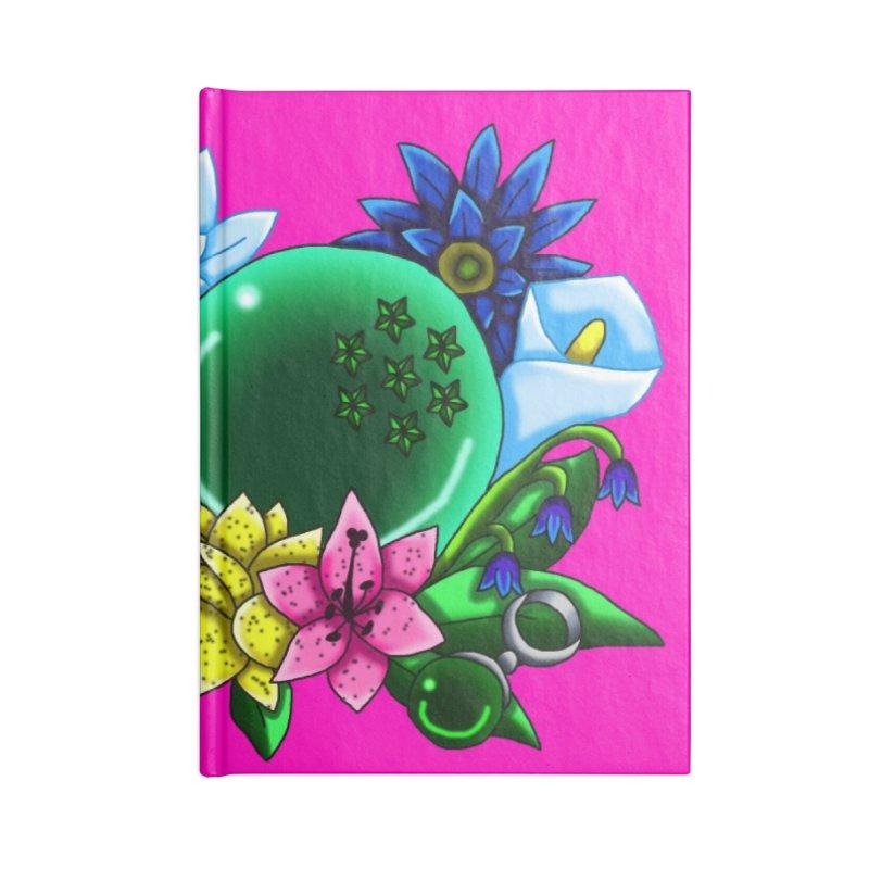 Inverted May Birthstone Dragonballs #8 Accessories Notebook by FieryWindWaker's Artist Shop