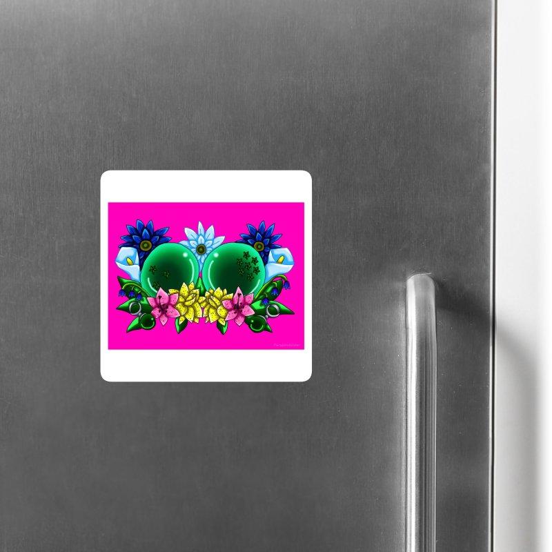 Inverted May Birthstone Dragonballs #10 Accessories Magnet by FieryWindWaker's Artist Shop