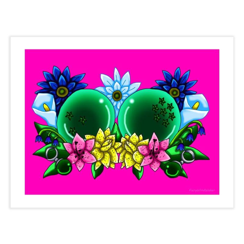 Inverted May Birthstone Dragonballs #10 Home Fine Art Print by FieryWindWaker's Artist Shop